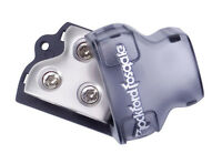 ROCKFORD FOSGATE RFD1 0/1/4-Gauge Ga AWG Car Audio Distribution Block 1-In 2-Out