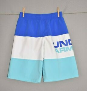 UNDER ARMOUR NEW $40 UA Triple Block Volley Shorts Youth Large