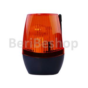 LAMPEGGIANTE PER CANCELLO GARAGE 220V 230V LAMPADA E14 LAMPEGGIATORE FLASH LAMP