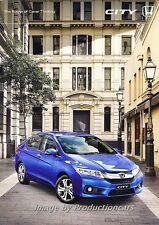 2014 Honda City 28-page Australia Car Sales Brochure Catalog