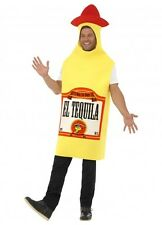 Tequila Bottle Costume Mens Stag Night Unisex Buck's Night Mexican Mexico Adult