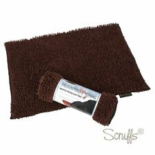 Scruffs Noodle Dry Mat/Rug for Dogs Brown Non Skid Size 90x60cm