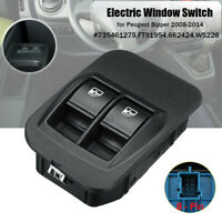 8Pin Electric Window Control Switch Button For Peugeot Bipper 08-14 Fiat Fiorino