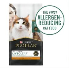 New listing Purina Pro Plan High Protein Dry Cat Food, Liveclear Chicken, 3.5 lb. Bag