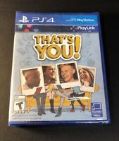 That's You [ PlayLink ]  (PS4) NEW