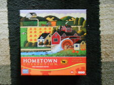 "Hometown 1000 Piece Puzzle-""Pumpkin Sale""-GREAT FOR HALLOWEEN!!!"
