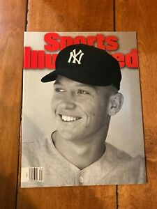 August 21, 1995 Mickey Mantle New York Yankees SPORTS ILLUSTRATED NO LABEL
