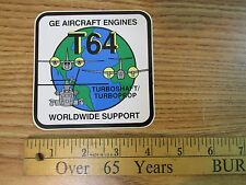 T64 WORLDWIDE SUPPORT TURBO PROP STICKER