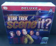 Star Trek Scene It? Deluxe Edition DVD Trivia Game New sealed