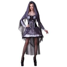 Bristol Ladies Halloween Dark Bride Costume Fancy Dress