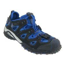 Sandales noires en cuir pour garçon de 2 à 16 ans