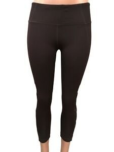 Active Life Womens  Athletic Leggings With Mesh Criss Cross Panels, Small