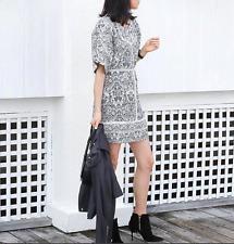IRO fauve mousseline dress fr 38 uk 10