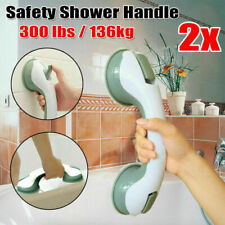 2x Safety Bathroom Aid Bath Shower Hand Grip Grab Suction Towel Rail Bar Handle