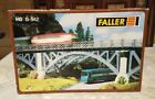 FALLER HO SCALE B-542  Train Bridge Plastic Kit (New Old Stock) Germany