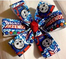 """Thomas Train ( 3"""") Magic Hairbows On Non Slip Clip USA SELLER"""