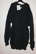 Strickpullover Herren Grobstrick Rundhals Pullover British Wool Neu!