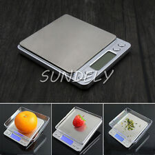 0.01G - 500G Digital Kitchen Food Scale Electronic Balance Weight Postal Scales