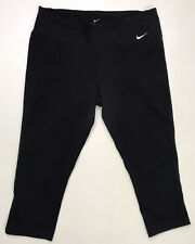 Nike Legend Capri Tight Legging Womens Large Black 552141 010