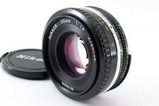 Nikon Ai-s NIKKOR 50mm 1.8 Pancake MF Lens Ais w/Cap From Japan【Excellent】675742