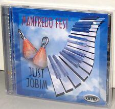 DMP CD 524: Manfredo Fest - Just Jobim - OOP 1998 USA DSD Factory SEALED