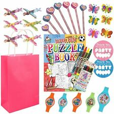 Girls Pre Filled Party Gift Bags Favours Fillers For Childrens Birthday