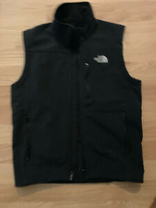NEW - MSRP $95 - - - THE NORTH FACE Black Shell Vest Mens - Sz Small S Men's