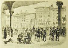 Quartier Generale di V.Emanuele_CASALE..1859.Risorgimento.Guerre d'Italie
