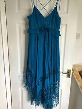 BNWOT Next maxi dress Teal size 10