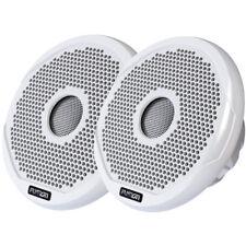 "FUSION FR4021 4"" Round 2-Way IPX65 Marine Speaker - 120W - Pair - White"