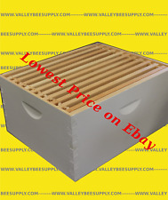 10F Painted Hive Body With Frames & Beeswax Coated Plastic Foundation