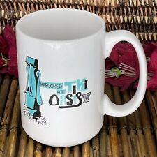 Marooned At Tiki Oasis V Coffee Mug Derek Yaniger Moai 2005 Palm Springs Pirate