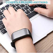 Digital USB Voice Recorder Spy Watch 8GB Sound Audio Recorder Rechargeable 96Hrs