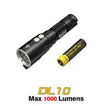 Nitecore DL10 Cree LED Underwater Sport Diving Light Flashlight Torch + Battery