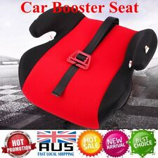 Sturdy Safe Car Seat Cushion Booster Seat Red for Baby Kids Children 3-12 Years