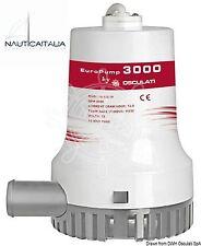 Pompa di sentina EuroPump II 3000 Osculati - 12V - per barca gommone - 16.122.18
