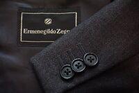 Ermenegildo Zegna Gray Nailhead 100% Wool Sport Coat Jacket Sz 42R
