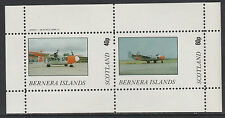 GB Locals - Bernera 2848 - AIRCRAFT perf sheetlet unmounted mint