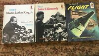 Random House Step Up Readers Lot 3 1960 Kennedy Martin Luther King Homeschooling