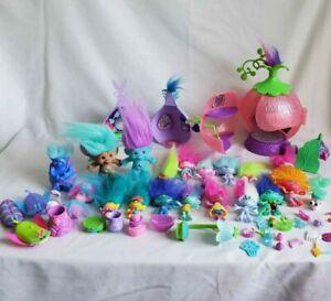 Hasbro DreamWorks Trolls Movie Mixed Figure Doll Toy PLAYSET POPPY Large Lot