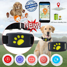 Pet Dog GSM GPS Tracker Locator Anti-lost Collar Waterproof Tracking Device Mini