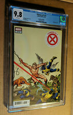 Powers of X #1 1:100 Jack Kirby Variant 1st Rasputin Appearance CGC 9.8 NM+/M