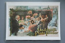 R&L Modern Postcard: Mumbles Railway, Goddard's Plate Powder, Banquet Dining