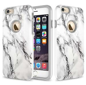 Apple iPhone 6 / iPhone 6S Case, Dual Layer Shockproof Case + Screen Protector