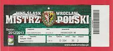 Orig.Ticket  Europa League  2012/13  SLASK WROCLAW - HANNOVER 96  !!  SELTEN