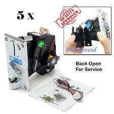 5 Packs TW130B CPU Coin Selector Acceptor Crane Vending  arcade Jamma game