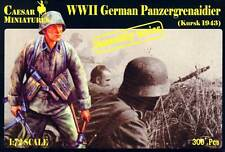 "16 Figurines multiposes ""panzergrenadiers Kursk 1943"" Caesar Miniatures N° 7715"