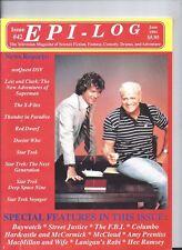 Epilog Magazine Science Fiction June 1994 excellent X-Files Doctor Who