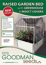Raised Garden Bed With Greenhouse & insect covers, gardening, mini greenhouse
