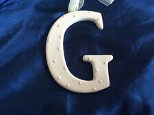 Amscan Ceramic Baby Wall Letter Q Light Pink Different Designs 449091